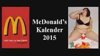 ♦♦ Mcdonald's Kalender #2018 ♦♦