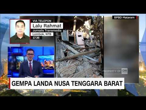 Gubernur NTB, TGB Tetapkan 3 Hari Masa Tanggap Darurat Usai Dilanda Gempa
