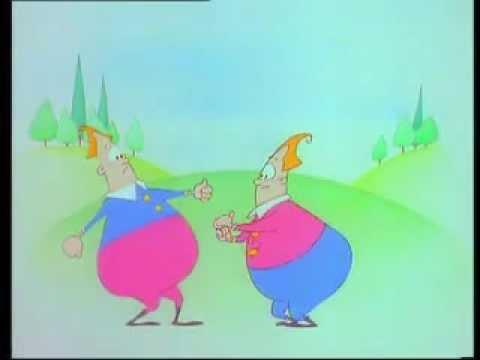 """""""TWEEDLE DUM AND TWEEDLE DEE"""" nursery rhyme"""