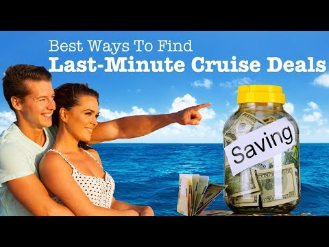 Cheap Last Minute Cruise Deals. The 10 Best Ways To Find The