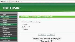 Configuração Tp link  TL-WR340GD