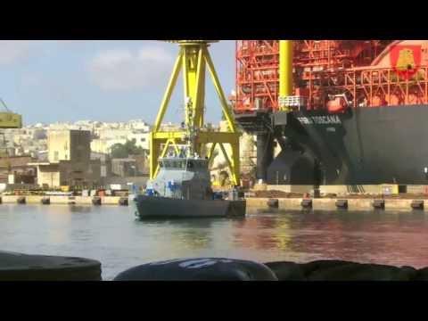 AFM Intercepts Vessel Spilling Oil at Sea
