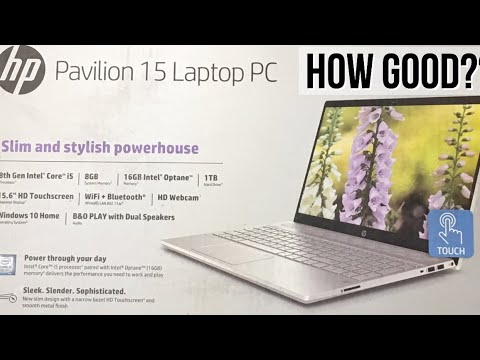 How Good?? HP Pavilion 15 Laptop PC Review and Unboxing
