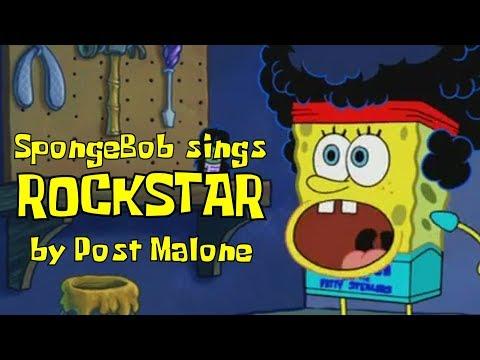 """spongebob-sings-""""rockstar""""-by-post-malone"""