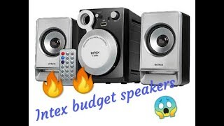 INTEX IT890U 2 1 Multimedia Speaker Unboxing Review and Sound test Best Budget Speaker