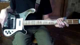 Rickenbacker 4001 bass, 1977