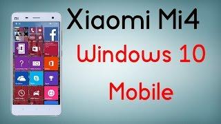 Xiaomi Mi4 con Windows 10 Mobile - ¿El móvil del año? - Review en español