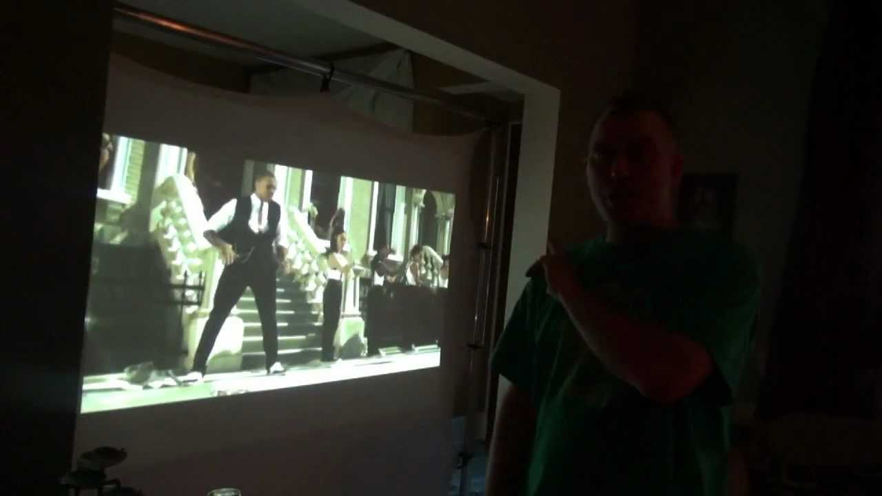 Reverse projection film by yourself