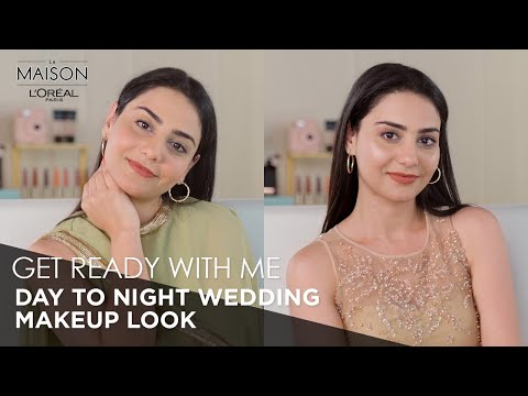 Day to Night Wedding Makeup Tutorial with L'Oréal Paris | Step By Step Makeup | Wedding Makeup Looks