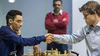 Шахматы. Фабиано Каруана - Магнус Карлсен: цельный поединок в испанской партии