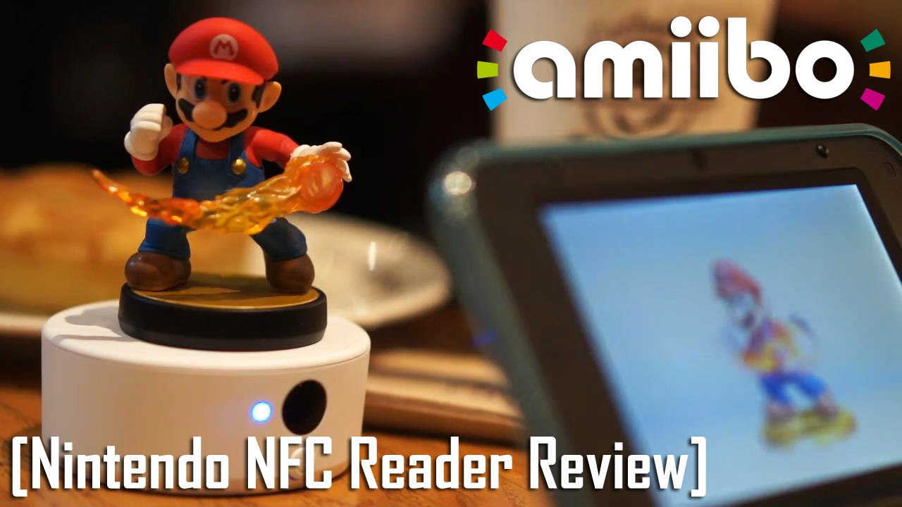 Nintendo NFC Reader/Writer Review [Use Amiibos on 3DS/3DSXL]   Too Much  Gaming