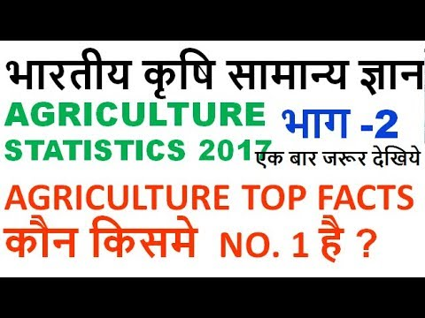 indian agriculture gk in hindi bharat ki krishi |one liner | mcq |uppcs| ssc cgl | 2017 exams Part 2