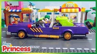 Lego Joker LOWRIDER CRUSING Stop Motion Animation