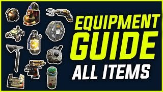BLACKOUT EQUIPMENT ITEMS - FULL GUIDE [BETA] with Gameplay Examples