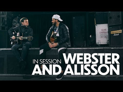 In session: Alisson Becker and Jamie Webster | Keeper sings 'Allez, Allez, Allez'