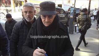 Bono - SIGNING AUTOGRAPHS while promoting in NYC