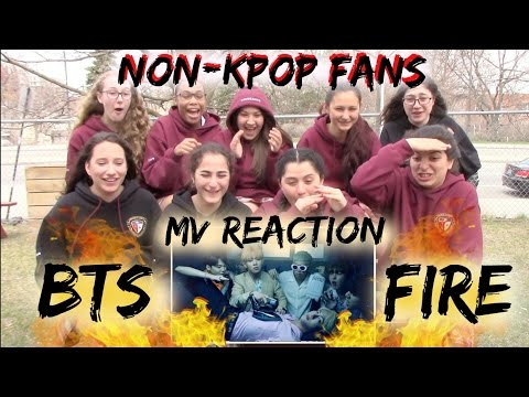 Cover Lagu Giveaway/closed Non-kpop Fans Bts Fire  Reaction Classmates Edition