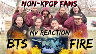 [GIVEAWAY/CLOSED] Non-Kpop Fans BTS FIRE MV reaction [Classmates Edition]