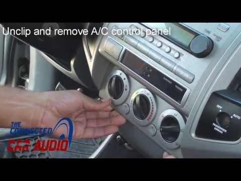 remove stereo tacoma 2005-2011