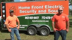 Home Front Electric, Security and Sound | Electrician in Okeechobee, Florida