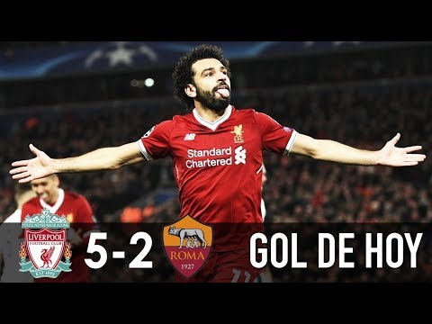 Liverpool 5 Roma 2 I Liverpool vs Roma I Champions League