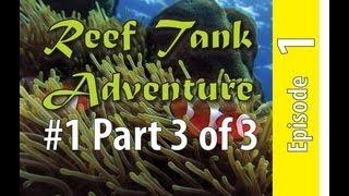 Reef Tank Adventure #1 Part 3 Of 3 Steel Aquarium Build