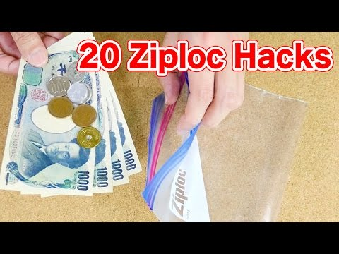 20 Ziplock Bag Hacks (Freezer Bag)