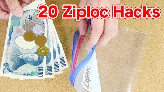 20 Ziplock Bag Hacks (Freezer Bag)