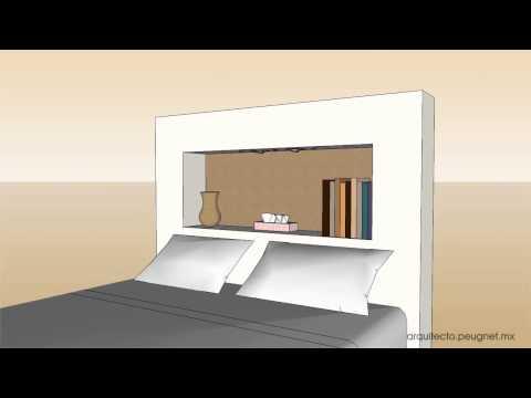 Cabecera nicho youtube - Cuadros para cabecera de cama ...