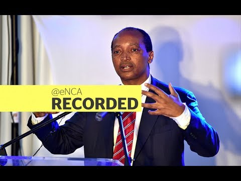 Patrice Motsepe briefs the media amid Eskom allegations