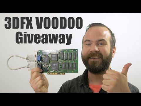 10.000 Subscribers! 3DFX Voodoo1 Giveaway!!! New Camera, Dutchvideoshooter channel.