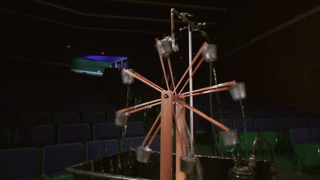 Chaotic Waterwheel