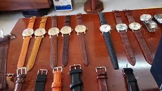 7/1/2019. Bán 8 đồng hồ Thụy sỹ automatic (Nhật bãi) nhóm dây da võ inox. Toàn 0947350055