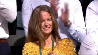 Andy Murray victory Speech after defeating Milos Raonic in Wimbledon finals 2016