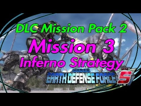 "Earth Defense Force 5 (EDF 5) DLC Mission Pack 2 INFERNO STRATEGY ""Mission 3"" thumbnail"