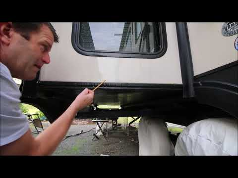 How to Prevent a Wet RV Slide Out Floor - UPDATED - YouTube