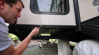 How to Prevent a Wet  RV Slide Out Floor - UPDATED