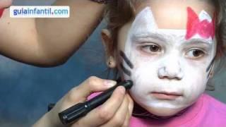 Hello Kitty makeup for kids