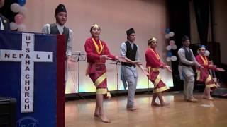 nepali group dance japan
