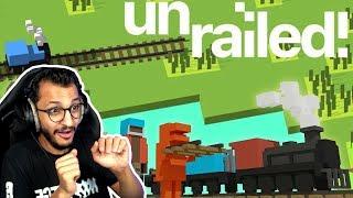 بسرعة قبل لايوصل القطار! Unrailed