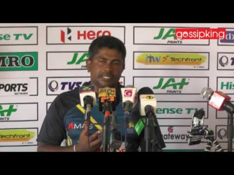 Rangana Herath told a press conference today, are you all laughing speech (Video)