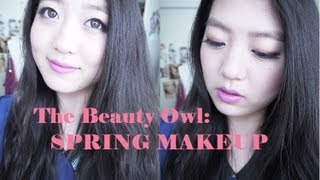 The Beauty Owl: Spring makeup + Urban Decay Glinda Palette Thumbnail