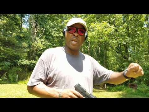 Taurus PT111 G2 9mm pistol.  .  .1st Time Shooting