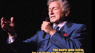 Since My Love Has Gone (1955) - Tony Bennett
