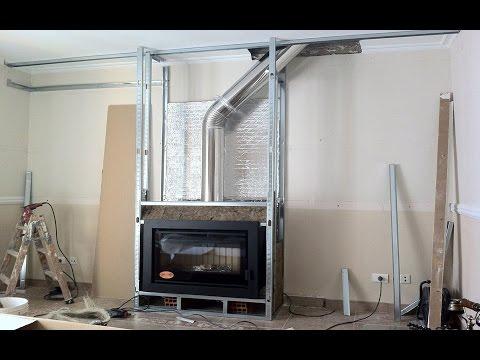 Como hacer una chimenea paso a paso youtube - Como construir una chimenea paso a paso ...