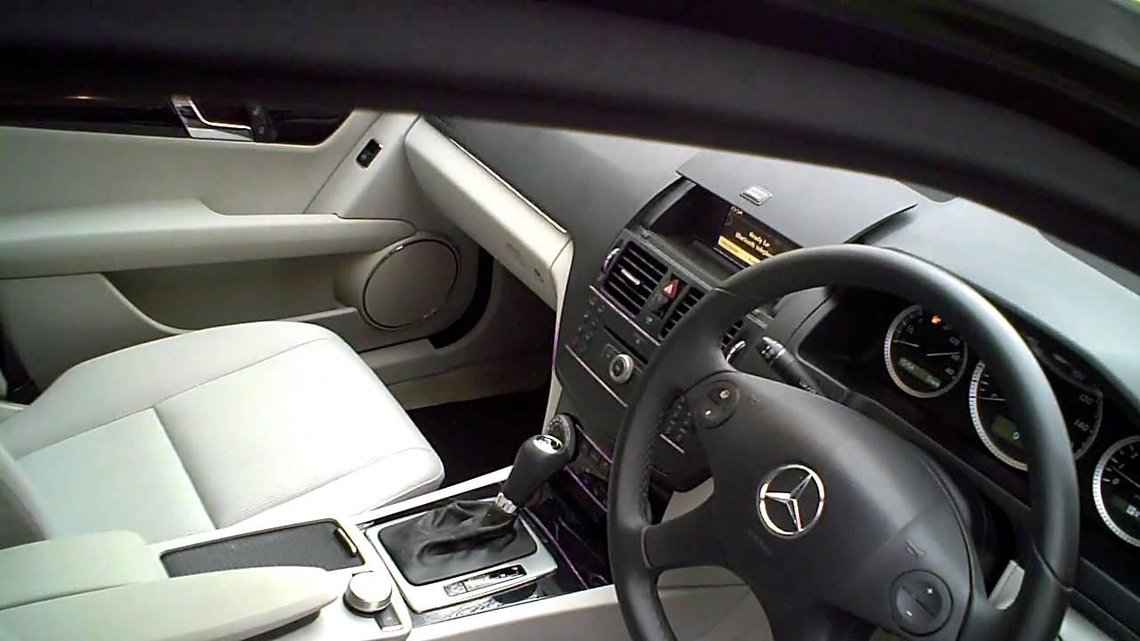 2009 Mercedes C180 Kompressor Saloon 1 6 Blueefficiency