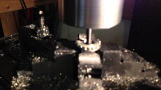 making a home made silencer part 3 threadmilling