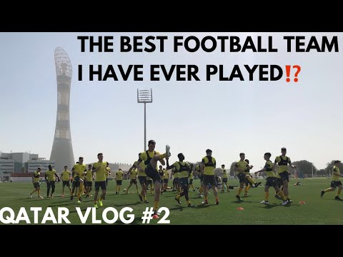 THE BEST FOOTBALL ACADEMY TOUR EVER - PART 2! Aspire Academy Vs Leeds United in Qatar