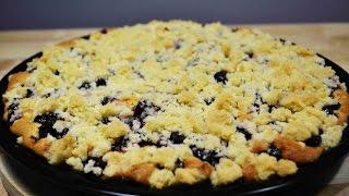 ПИРОГ с Вишней, Яблоком и Штрейзелем  |  Очень Вкусный Пирог | Cherry pie