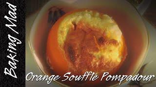 Eric Lanlard's Orange Soufflé Pompadour